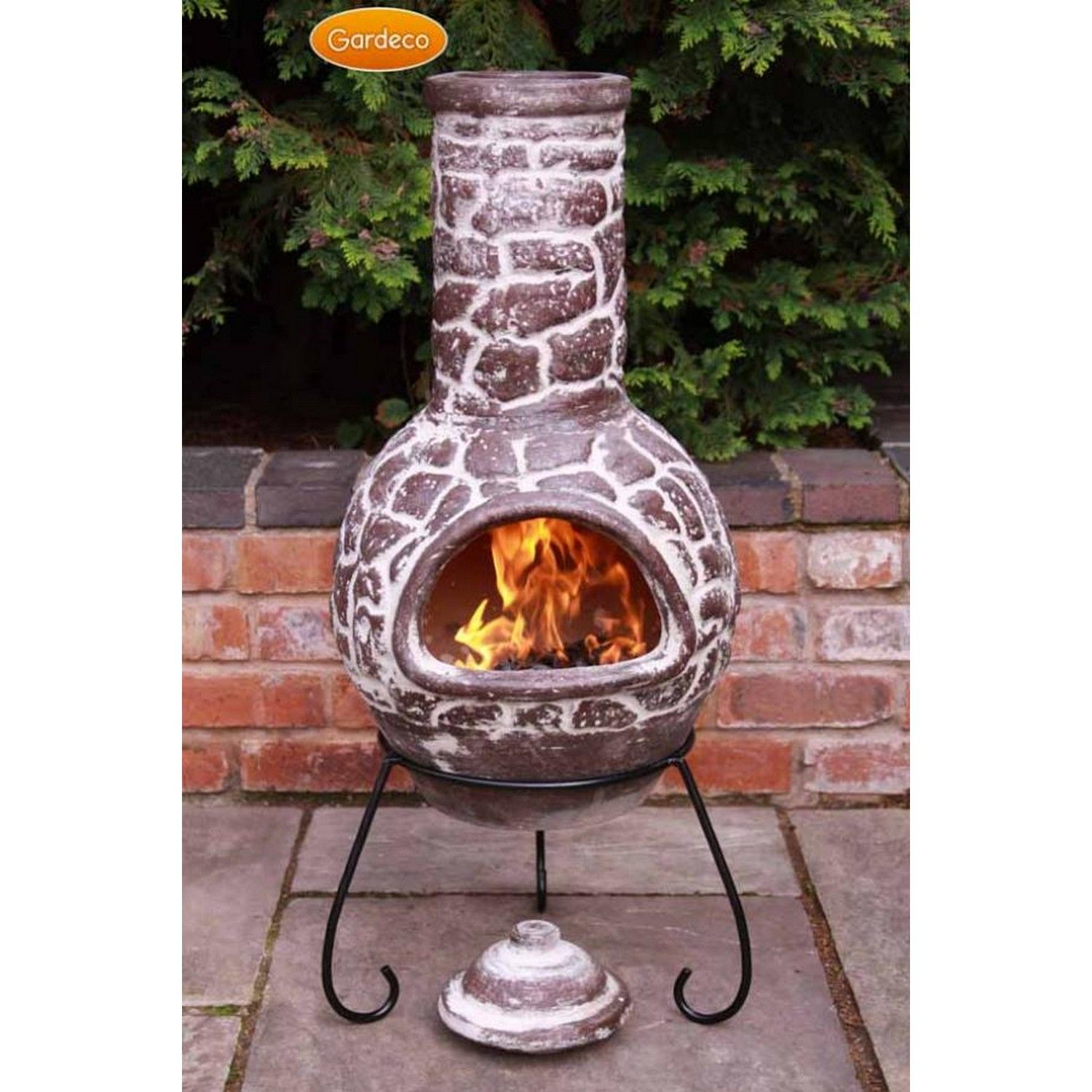 Liven up your patio with this original and genuine mexican - Chimeneas de barro ...