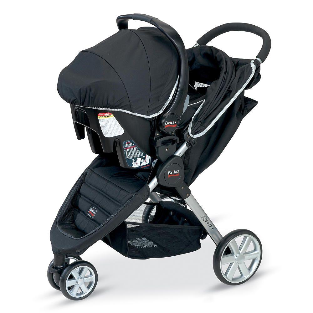 Britax B Agile Travel System Stroller Black Britax Babies R Us Britax Stroller Baby Car Seats Stroller