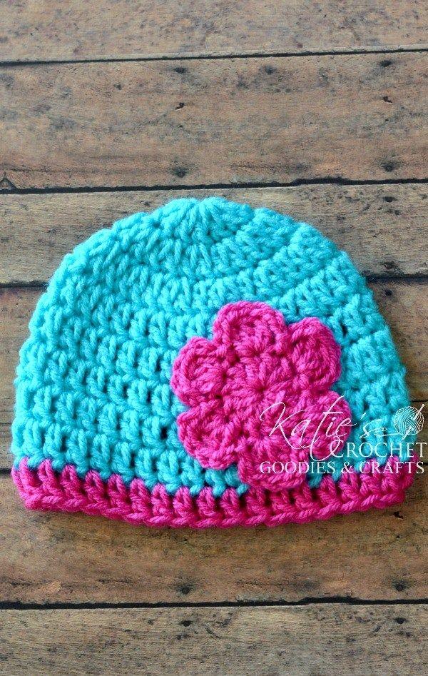 Free Flower Crochet Hat Pattern Flower Crochet Flower Hats And