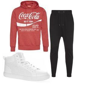 Primark - Ways to wear - Coca Cola hoodie