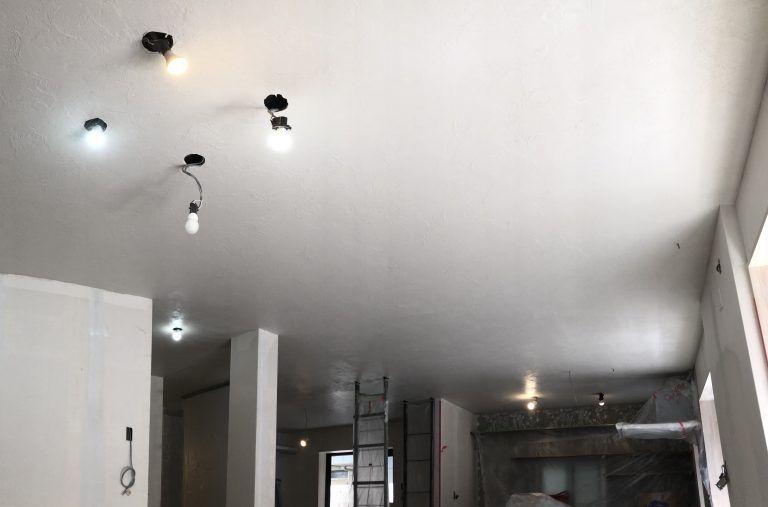 珪藻土の天井施工 施工 リフォーム 天井