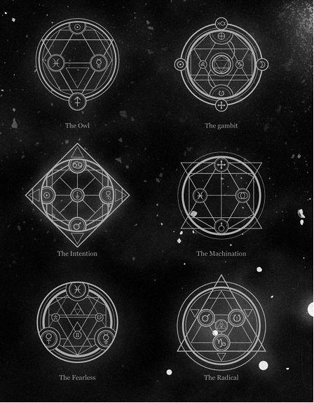 Geométricos geométricos Pinterest Símbolos, Símbolos mágicos y - new tabla periodica nombre y simbolos de los elementos