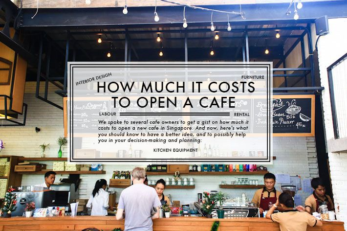 How Much It Costs To Open A New Cafe Starting A Coffee Shop Coffee Shop Business Opening A Coffee Shop