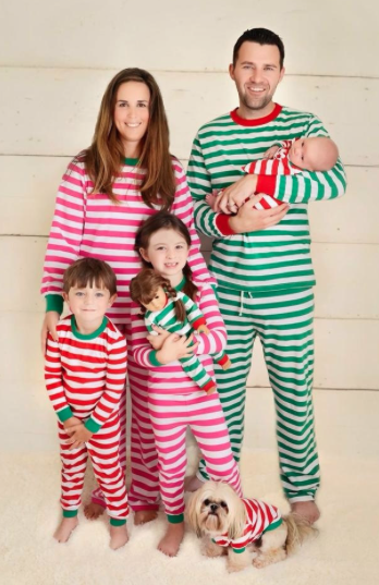 First Christmas for Baby Gifts: Matching Pajamas for the Whole ...
