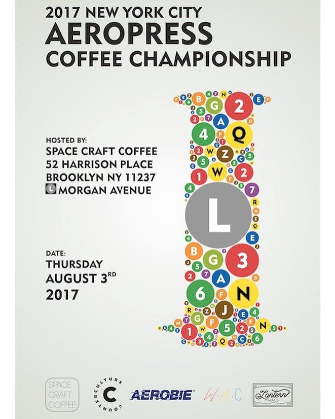 2017 New York AeroPress Championship, hosted by Space Craft Coffee