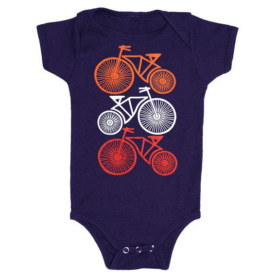 9db596c90 Bicycles - Baby One Piece Infant Bodysuit Sports Biking Cute Bicycle Wheel  Cycling Cycle Bike Adorable Vintage Retro Romper Jumper Navy Blue