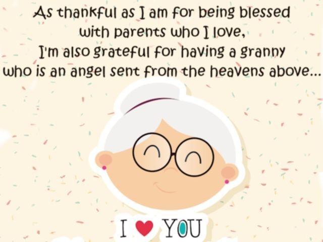 Happy Birthday Granny Cards Sayings Spelling Images And Wishes