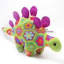 Resultado de imagen para crochet african flower animal