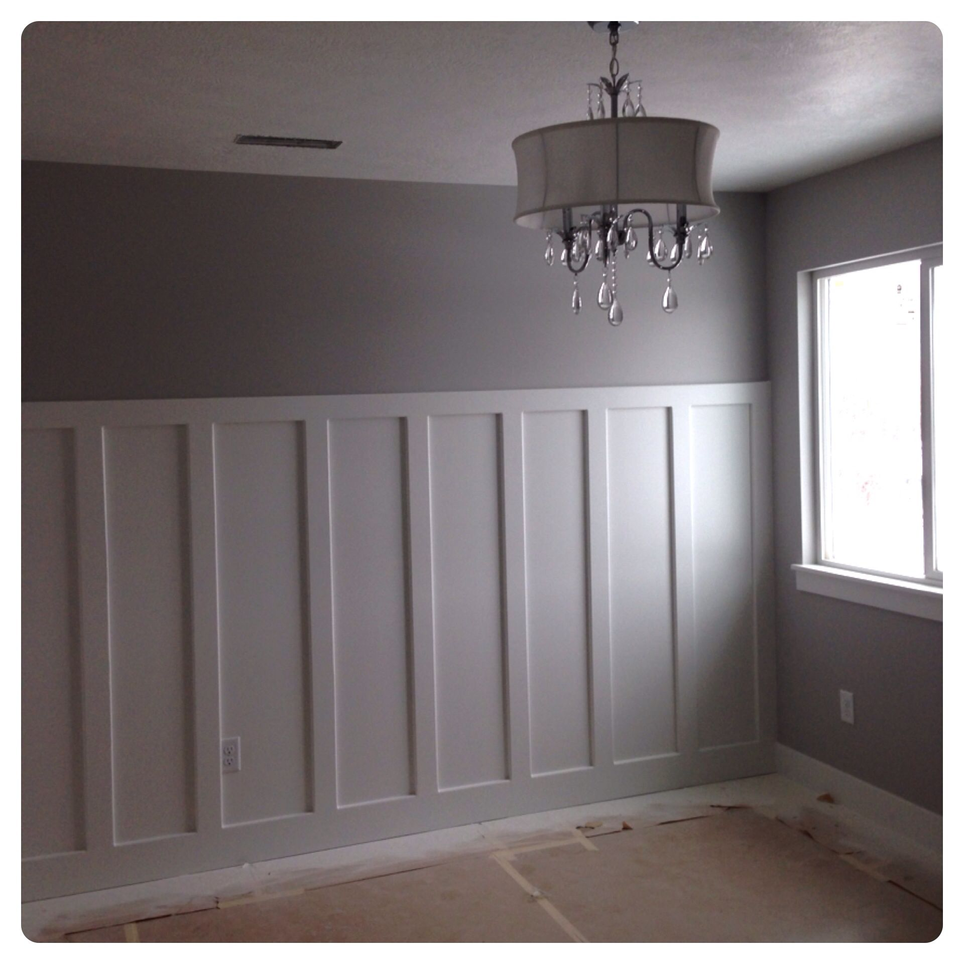 Wainscotting Dining Room Accent Wall: Wainscoting As A Accent Wall