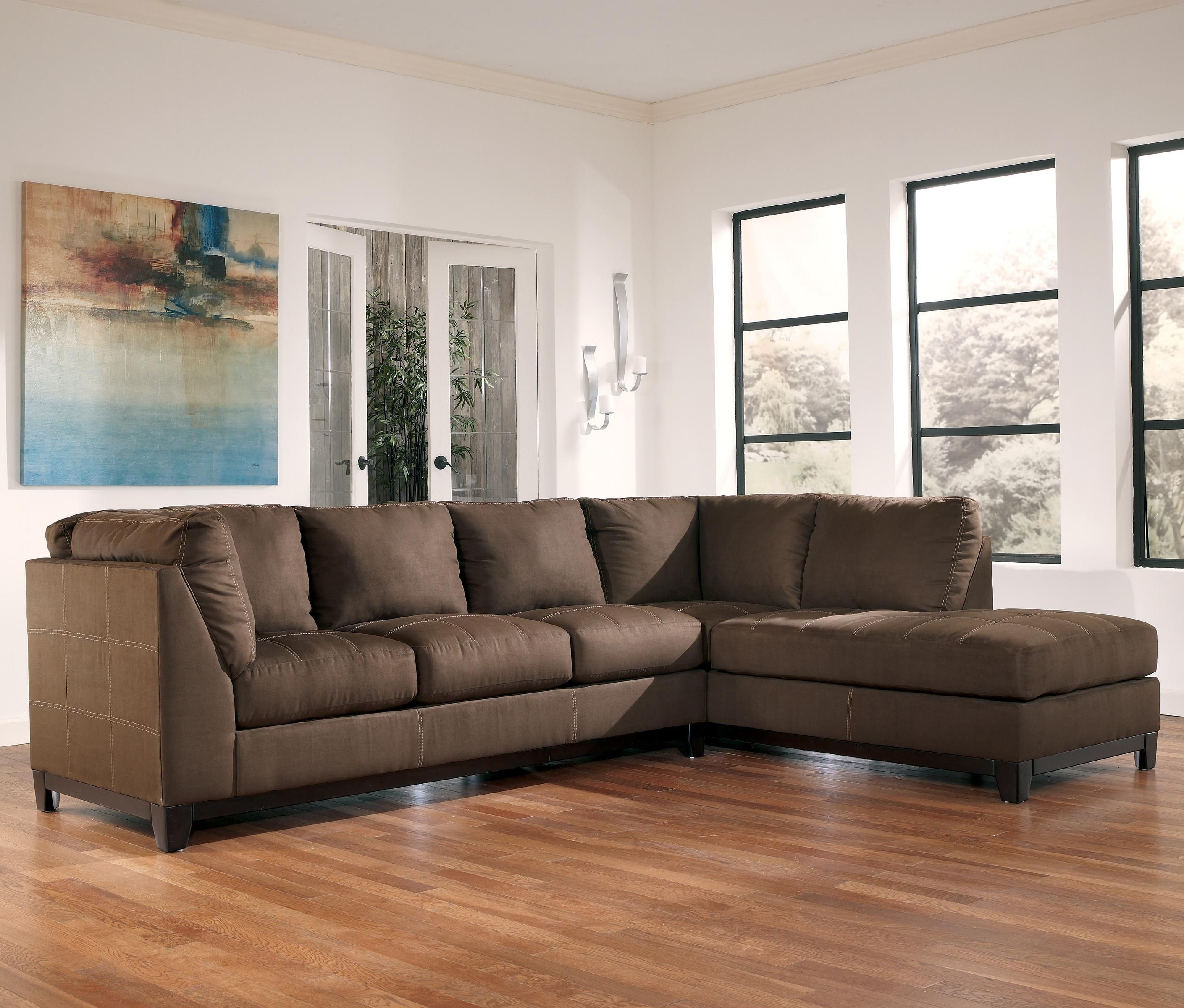 Fusion Cafe 2 Piece Sectional with Chaise by Signature Design by