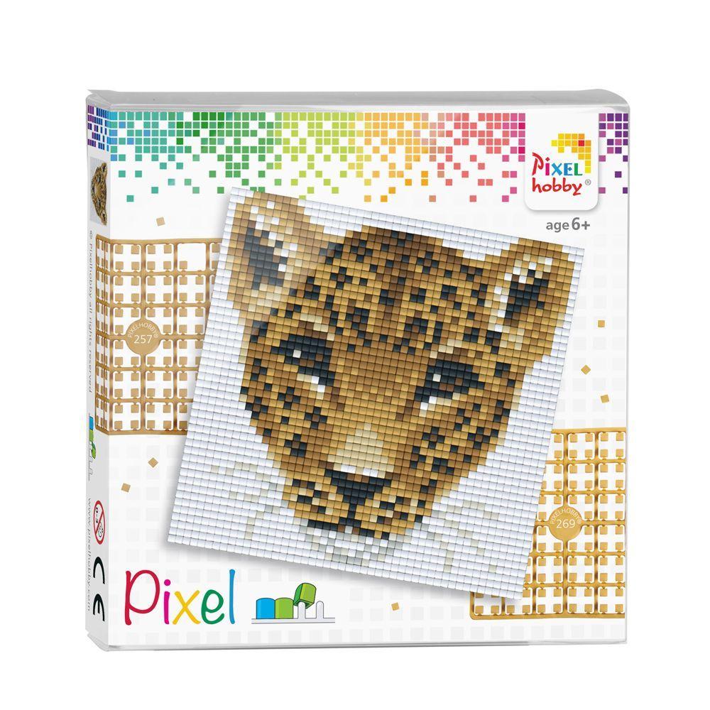Pixelhobby Complete Set Panter Pixelkunst Patronen Strijkparels Patronen