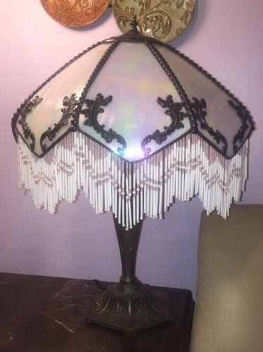 Meyda tiffany xl table lamp with victorian lamp shade romance slag meyda tiffany xl table lamp with victorian lamp shade romance slag fringe brass ebay aloadofball Gallery