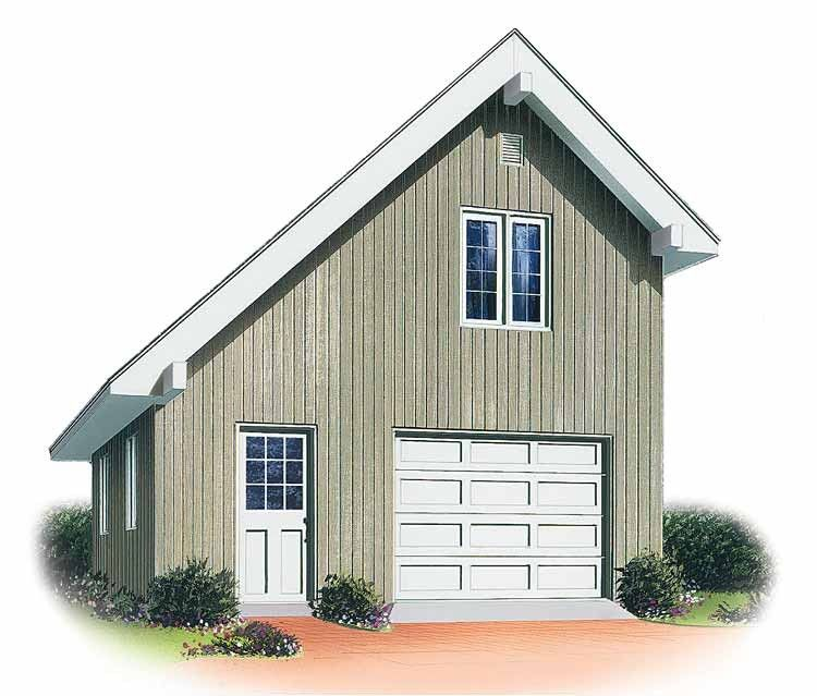 Contemporary Style House Plan 0 Beds 0 Baths 1050 Sq Ft Plan 23 455 Garage Plans With Loft Garage Loft Garage Plans Detached