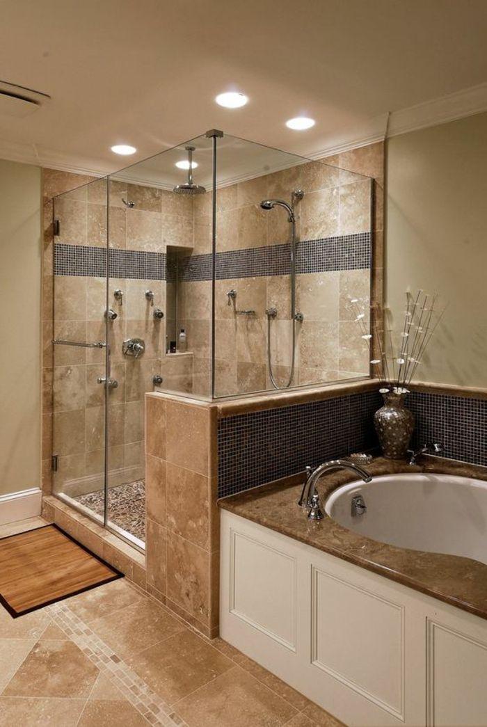 ▷ 1001 + idées déco pour la salle de bain travertin   Bedroom decor ...