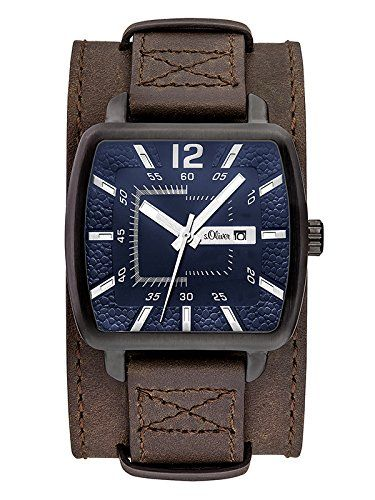 s.Oliver SO-3048-LQ - Reloj para hombres d9b447d98917