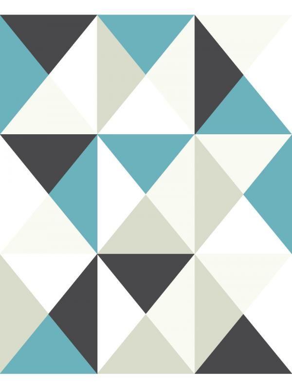 papier peint intiss polygone triangles bleu gris graham brown d coration g om trique. Black Bedroom Furniture Sets. Home Design Ideas