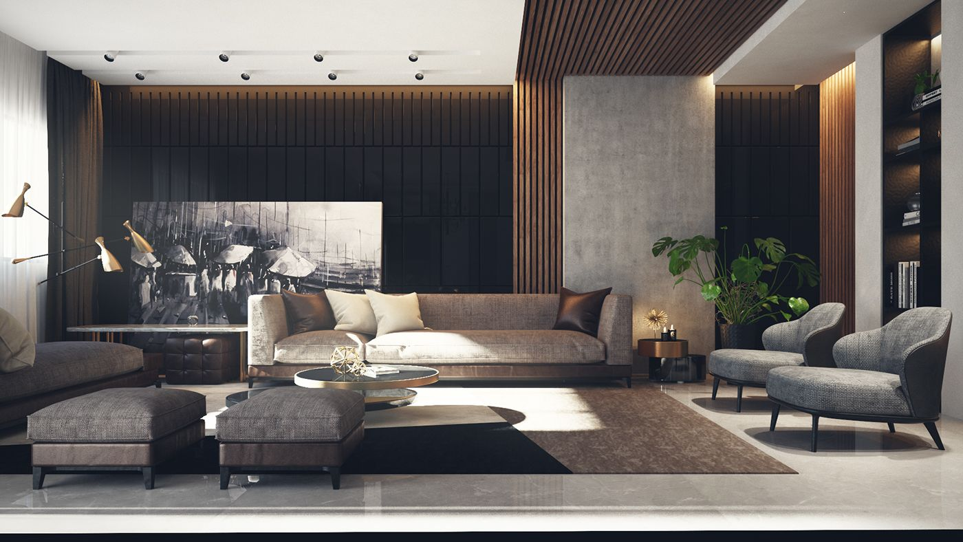 Showcase And Discover Creative Work On The World's Leading Online Fascinating Living Room Showcase Design Inspiration