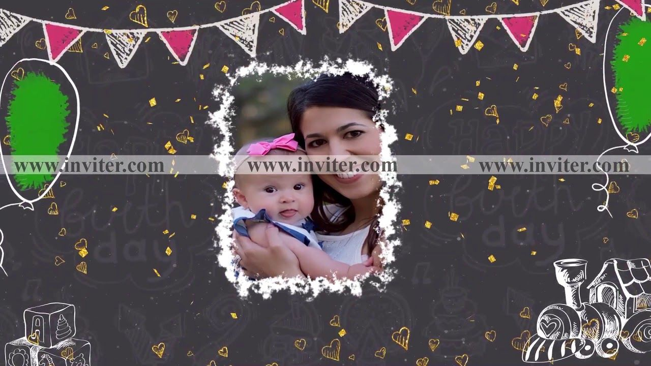 Online Birthday Slideshow Maker Slideshow Video Maker Hindu Wedding Invitation Cards Hindu Wedding Invitations Wedding Invitation Video