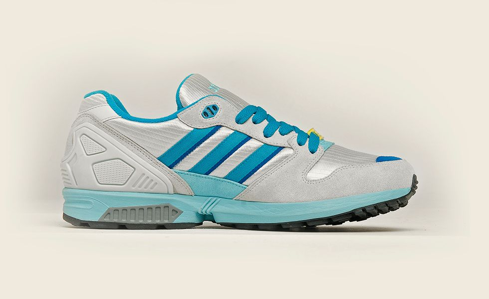 size 40 d2298 0b2ac adidas Originals ZX 5000: Silver/Blue | Sneakers: adidas ZX ...