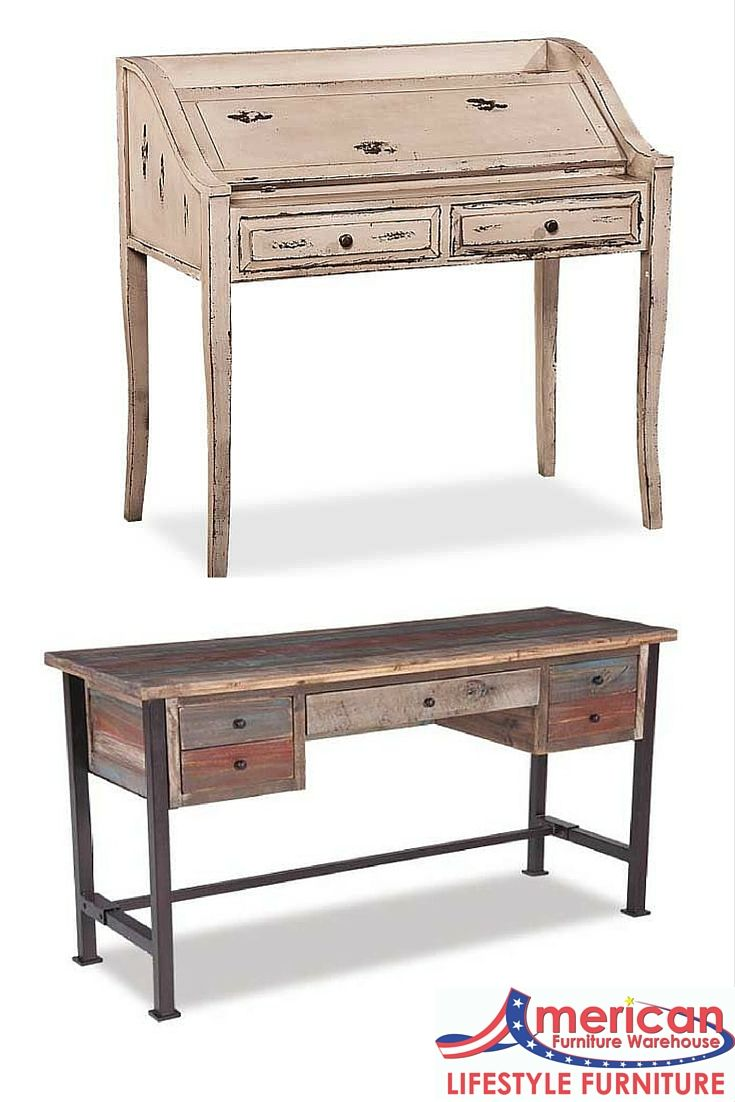 Add a rustic and vintage feel to your home office with these amazing finds.