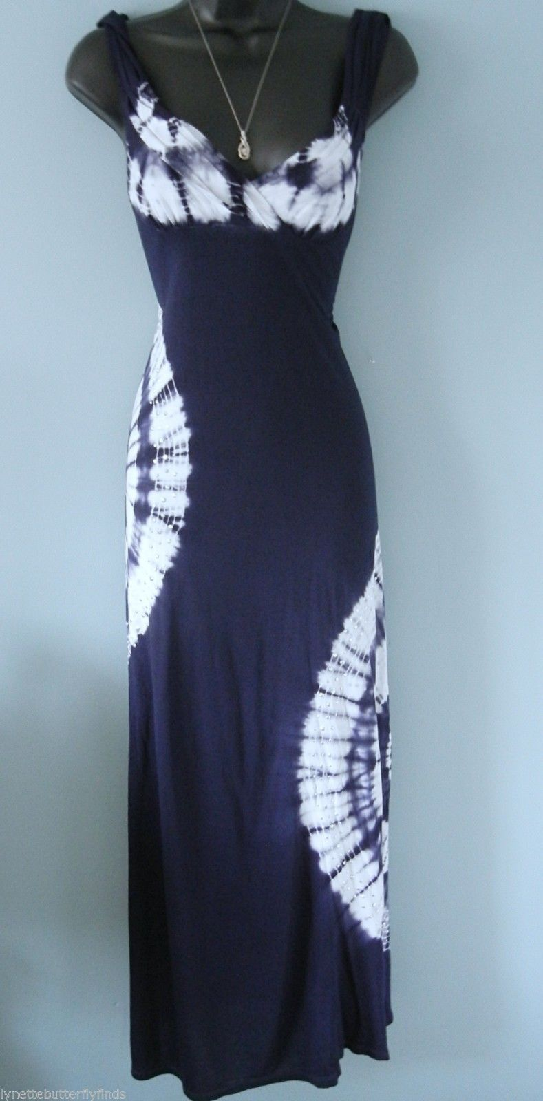 International Concepts Tie-Dye Maxi Dres