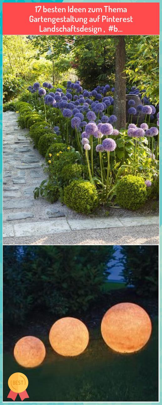 17 besten Ideen zum Thema Gartengestaltung auf Pinterest ...