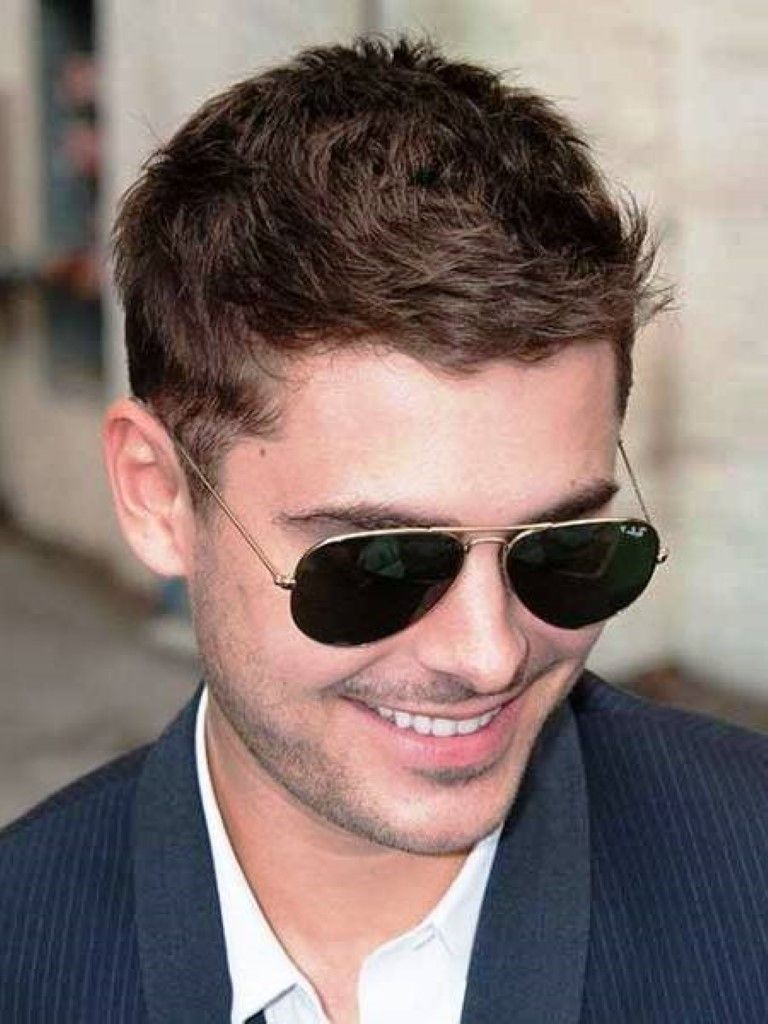 Short Hairstyles Best Short Hairstyles For Men   Trendy - Swept hairstyle men