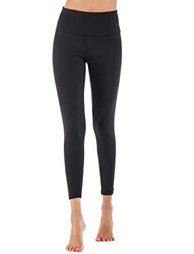 ed3f650e2ce81 Moyooga Women's High Waisted Naked Sensation Yoga Pants Squat-Proof Workout  7/8 Leggings 25″ #leggings #pants