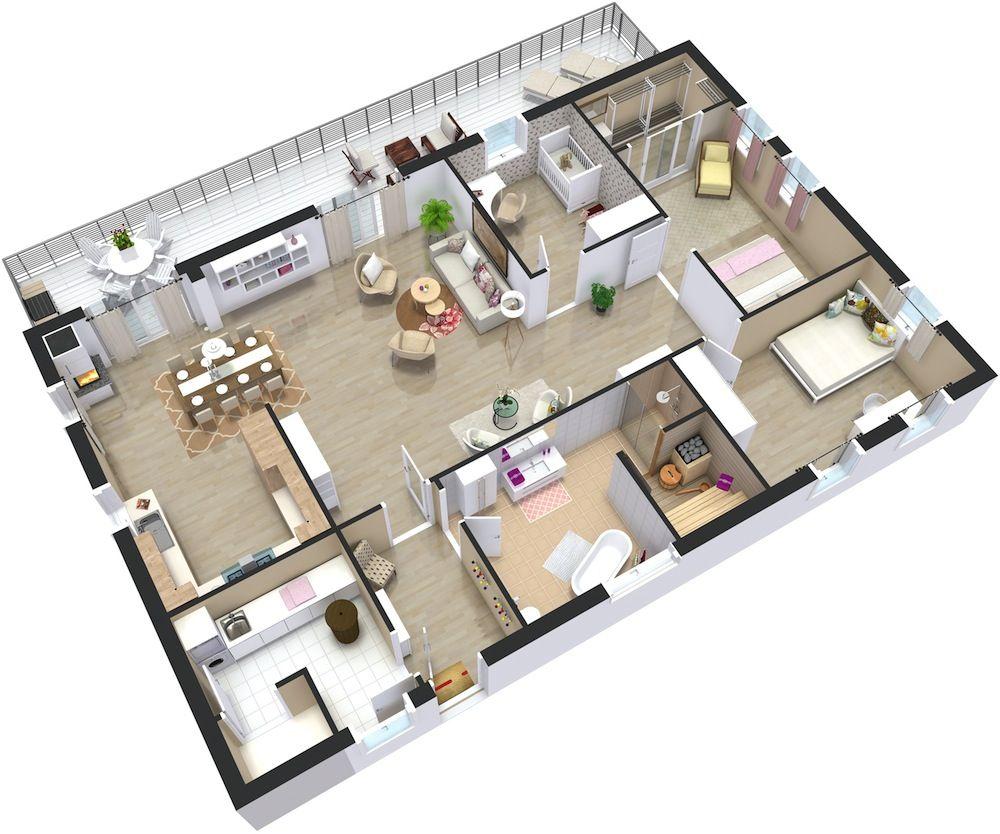 Home Plans 3d 3d House Plans Home Design Plans Floor Plan Design