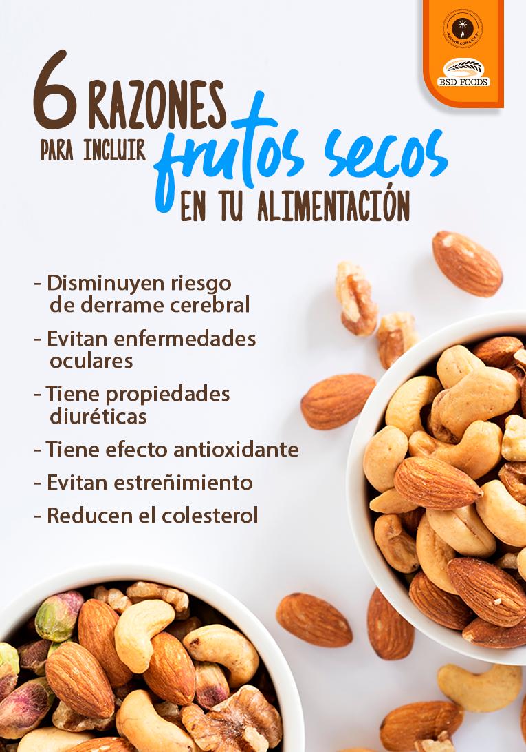 Incluye A Los Frutos Secos En Tu Día A Día Y Aprovecha Sus Propiedades Al Máximo Bsdti Beneficios De Alimentos Frutas Y Verduras Beneficios Frutas Y Verduras