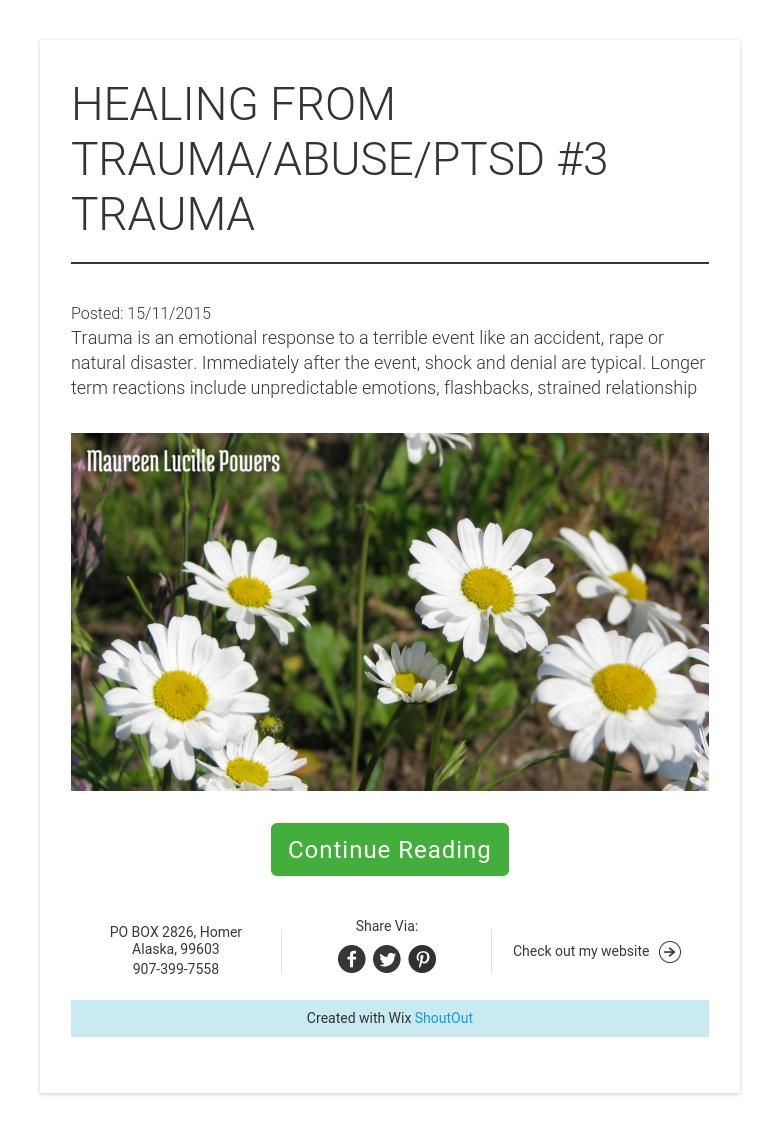 HEALING FROM TRAUMA/ABUSE/PTSD #3 TRAUMA   Nursing, Therapy ...