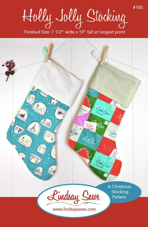 Quilted Christmas Stocking Pattern For Beginners PDF Download Enchanting Quilted Christmas Stocking Pattern