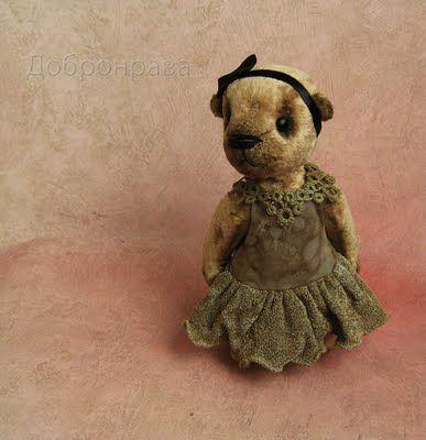 Such a cute little bear!! <3