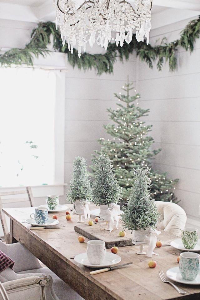 De Vijf Mooist Gedekte Tafels Martkleppe Nl Kerst Kerstdecoratie Kerst Ideeen