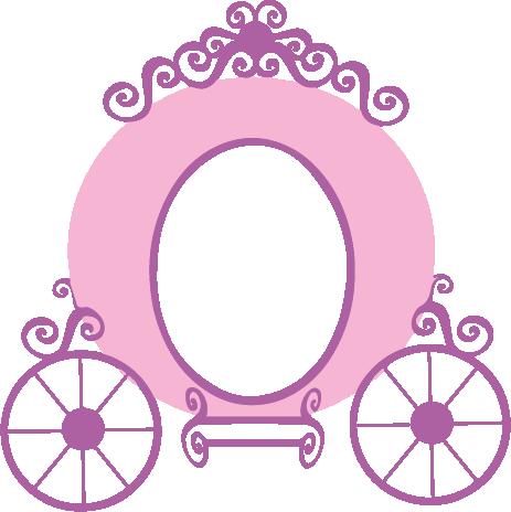 Princess Carriage Decal Clip Art Princess Carriage Disney Princess Party