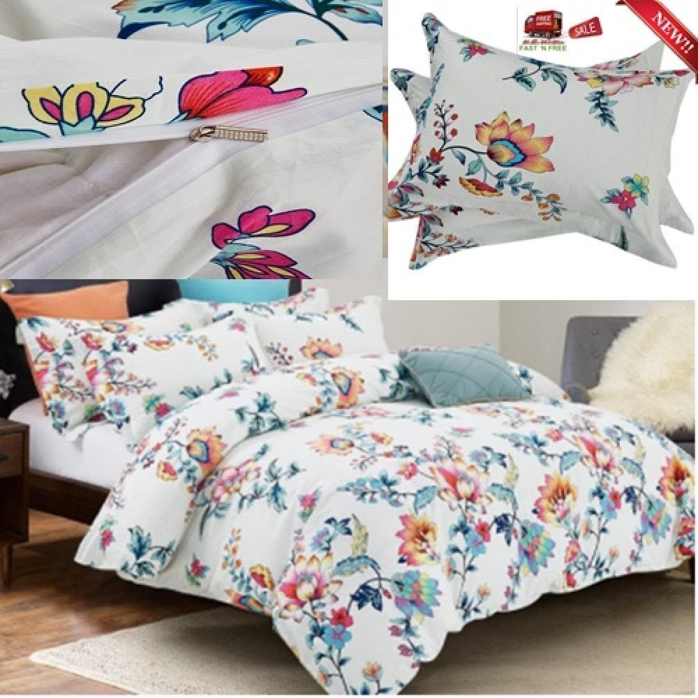 cartoon bedding size kids wholesale set unicorn flower product queen cover girl hd full twin king duvet from