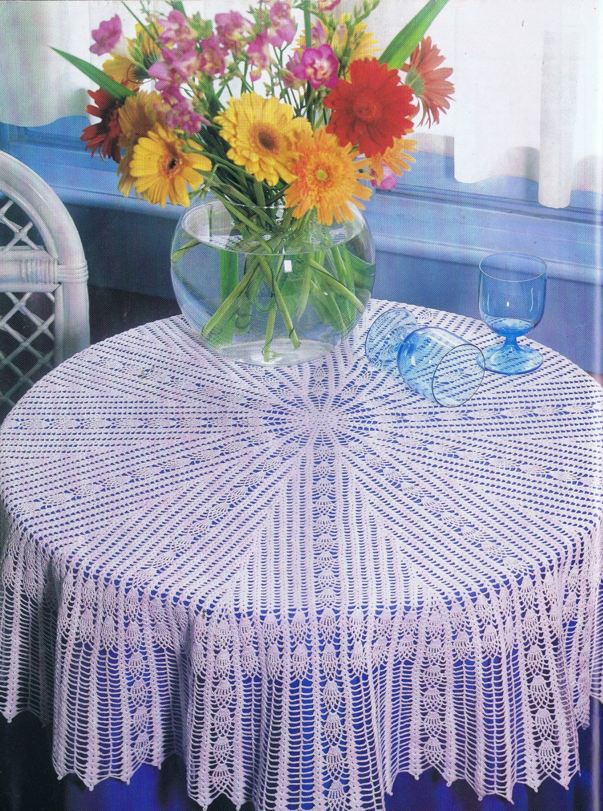 Filet crochet patterns lace lamp shade pillows tablecloth runners filet crochet patterns lace lamp shade pillows tablecloth runners doily bedsprea ebay dt1010fo