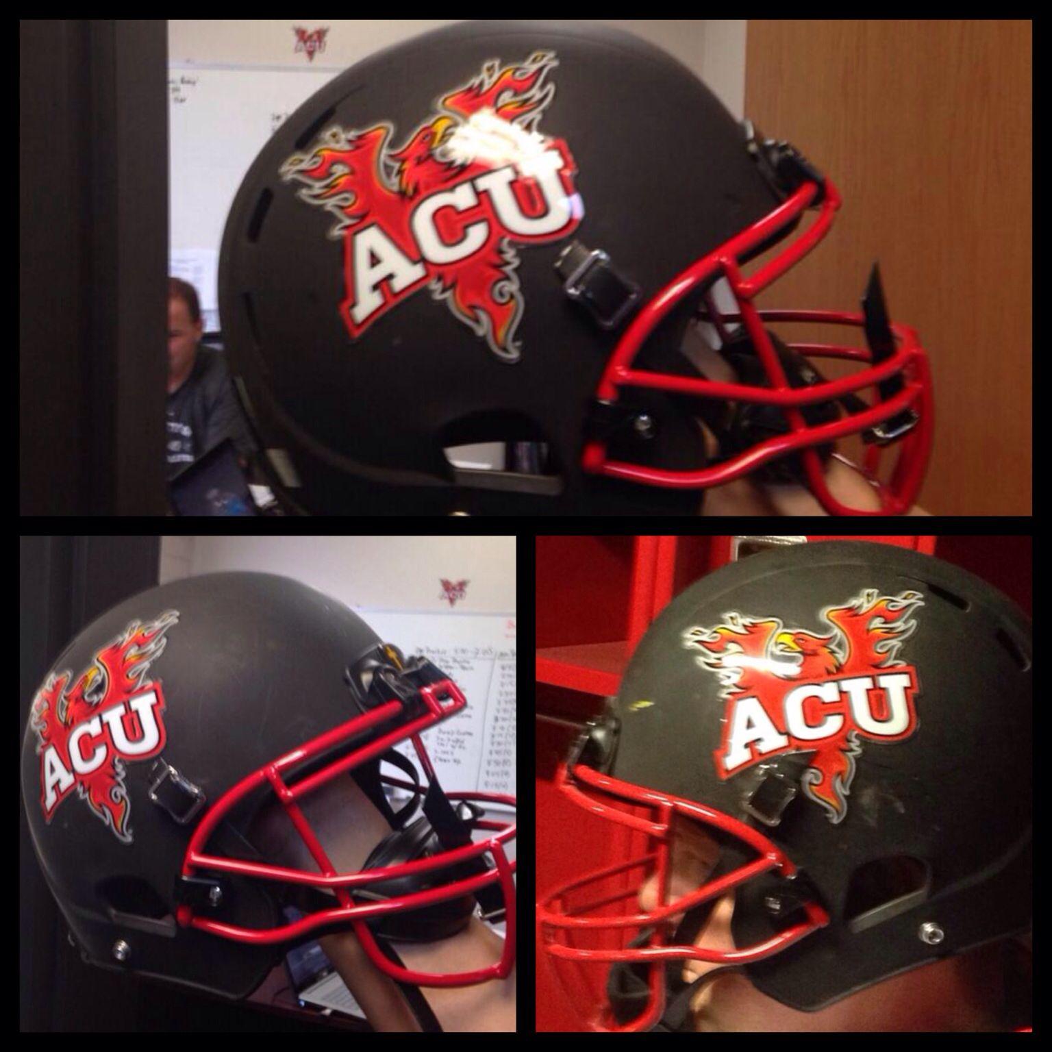 Arizona Christian University Football >> Check Out The New Football Helmets And Football Helmet