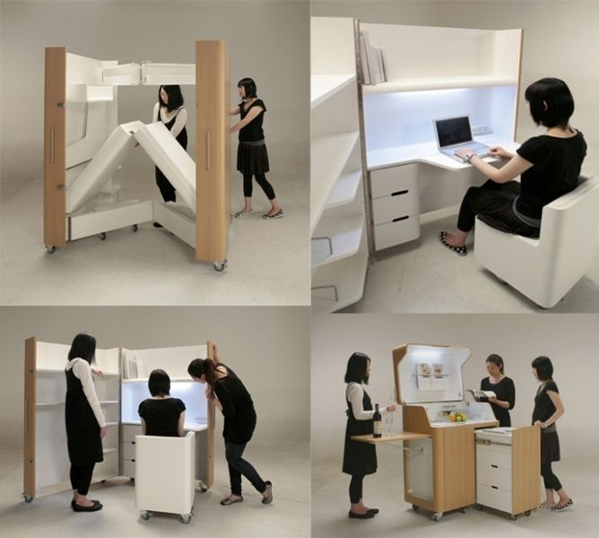 83 Creative  Smart Space-Saving Furniture Design Ideas in 2017