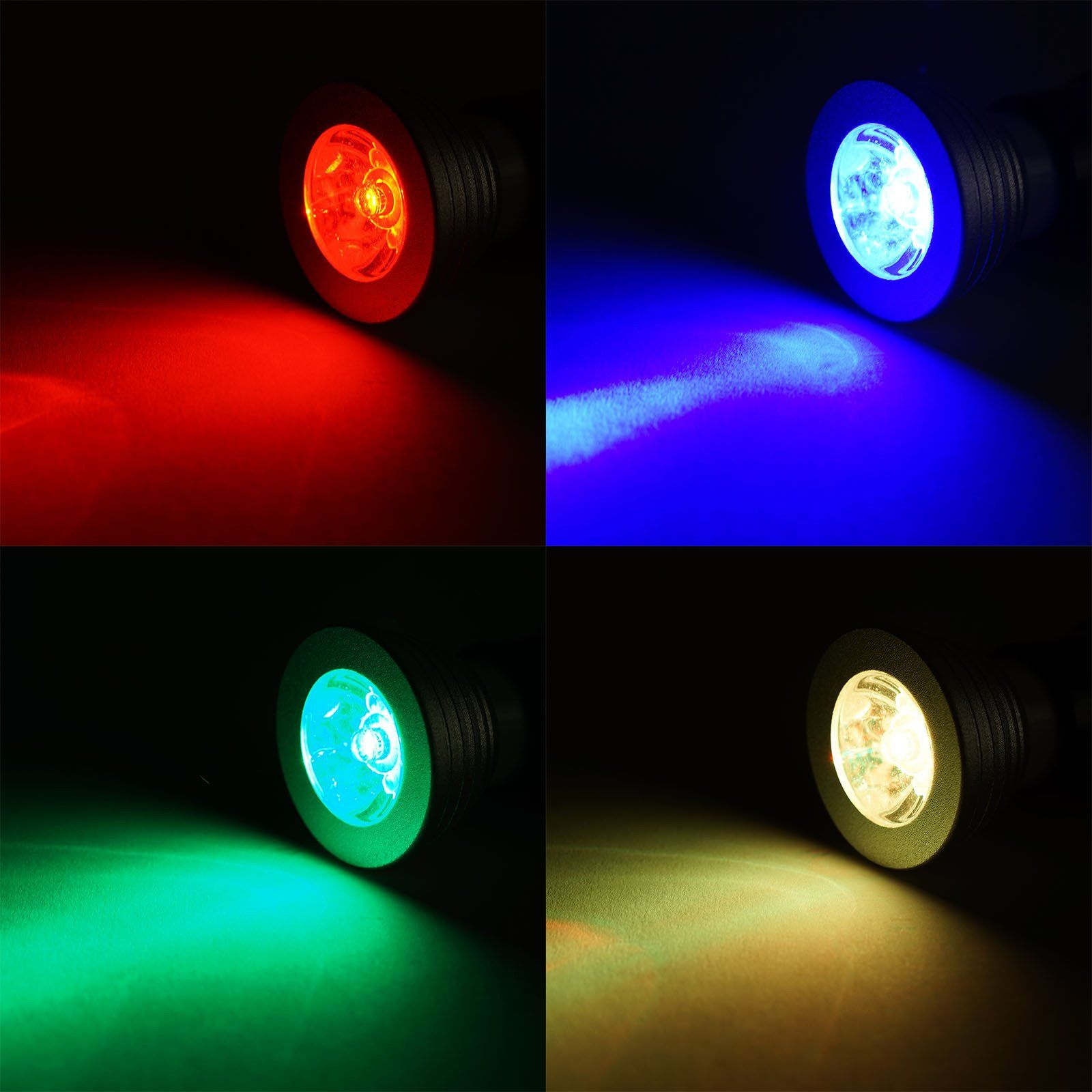 3 Watt 16 Color Changing Led Spot Light With Remote Led Color