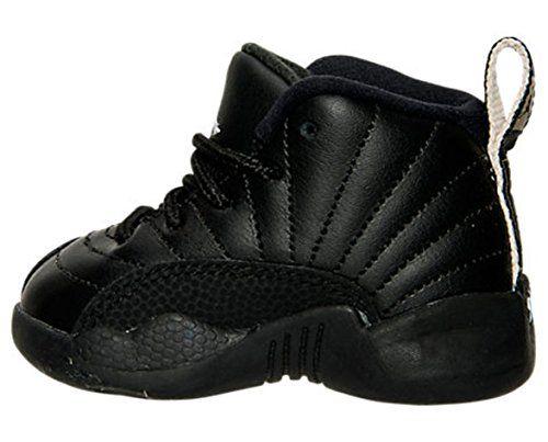 Nike Air Jordan Retro 12 THE MASTER Infant Toddlers Black Rattan White Metallic Gold 850000-013 (4). Nike Air Jordan Retro 12 THE MASTER Infant Toddlers Black Rattan White Metallic Gold 850000-013.