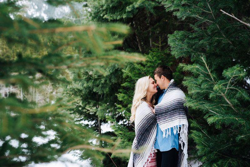 Mountain Engagement Session // Boho engagement session // Engagement photo outfits // Utah engagement session // Destination wedding // The Wander Series // Sugar Rush Photo + Video