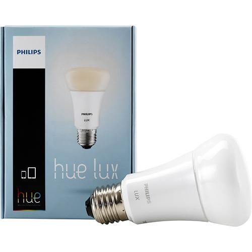 Best Buy Philips Hue Lux Extension 750 Lumen 9w Dimmable A19 Led Light Bulb 60w Equivalent Soft White 433714 Led Smart Bulb Smart Light Bulbs Hue Philips