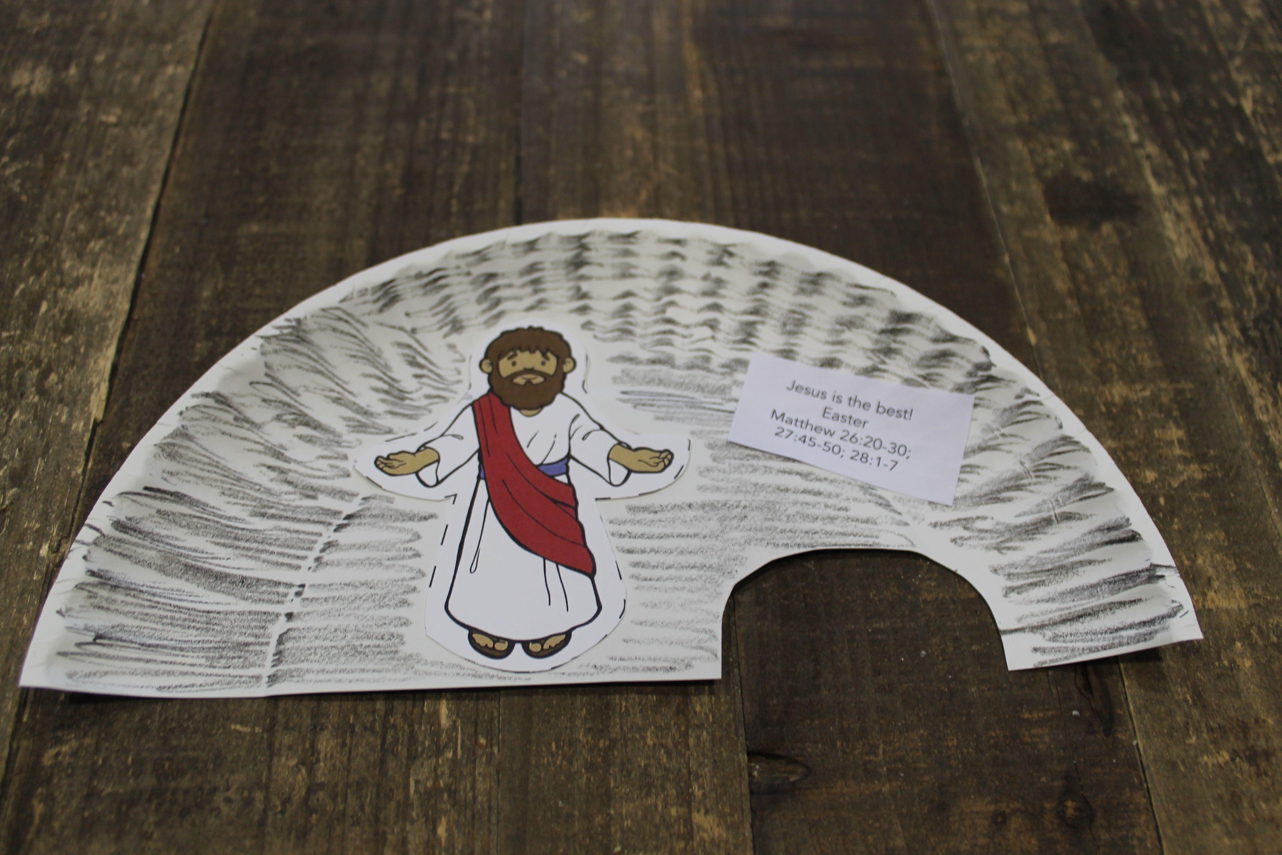 "Sample craft for ""Jesus Is Risen Craft,"" 2s, Week 3 ..."