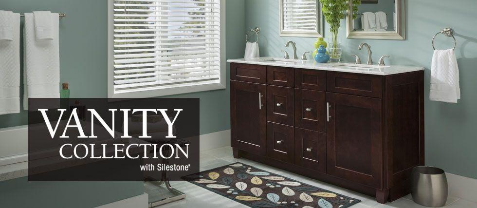 American Woodmark Vanity Bathroom