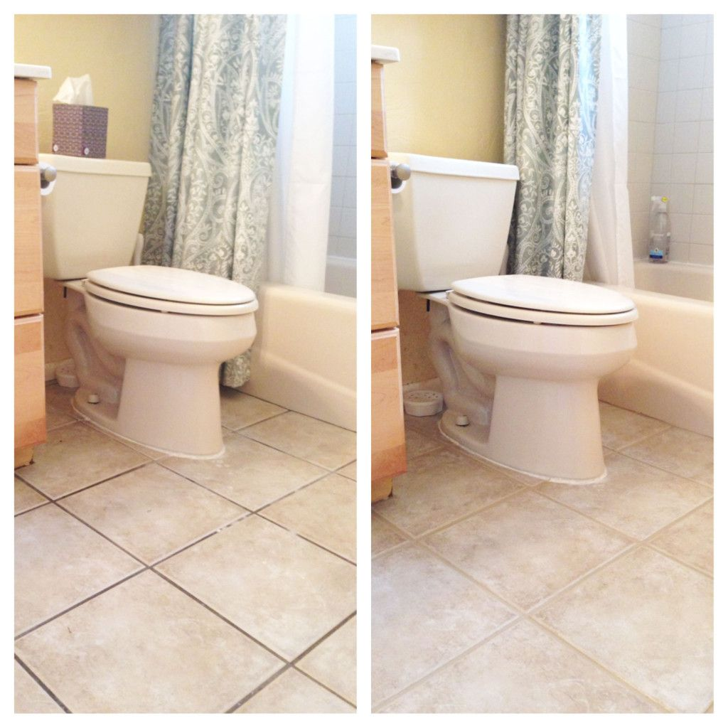 Bathroom Grout Touch Up Painted Grout With Polyblend Grout Renew In Haystack Bathroom Renovations Grout Renew Bathroom Sink Decor