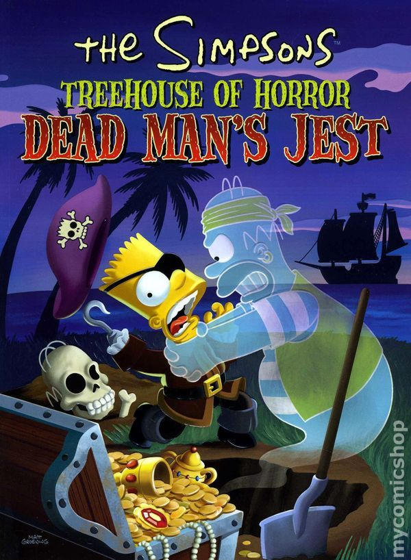Simpsons Treehouse of Horror TPB (2001-2011 HarperCollins) 5-REP