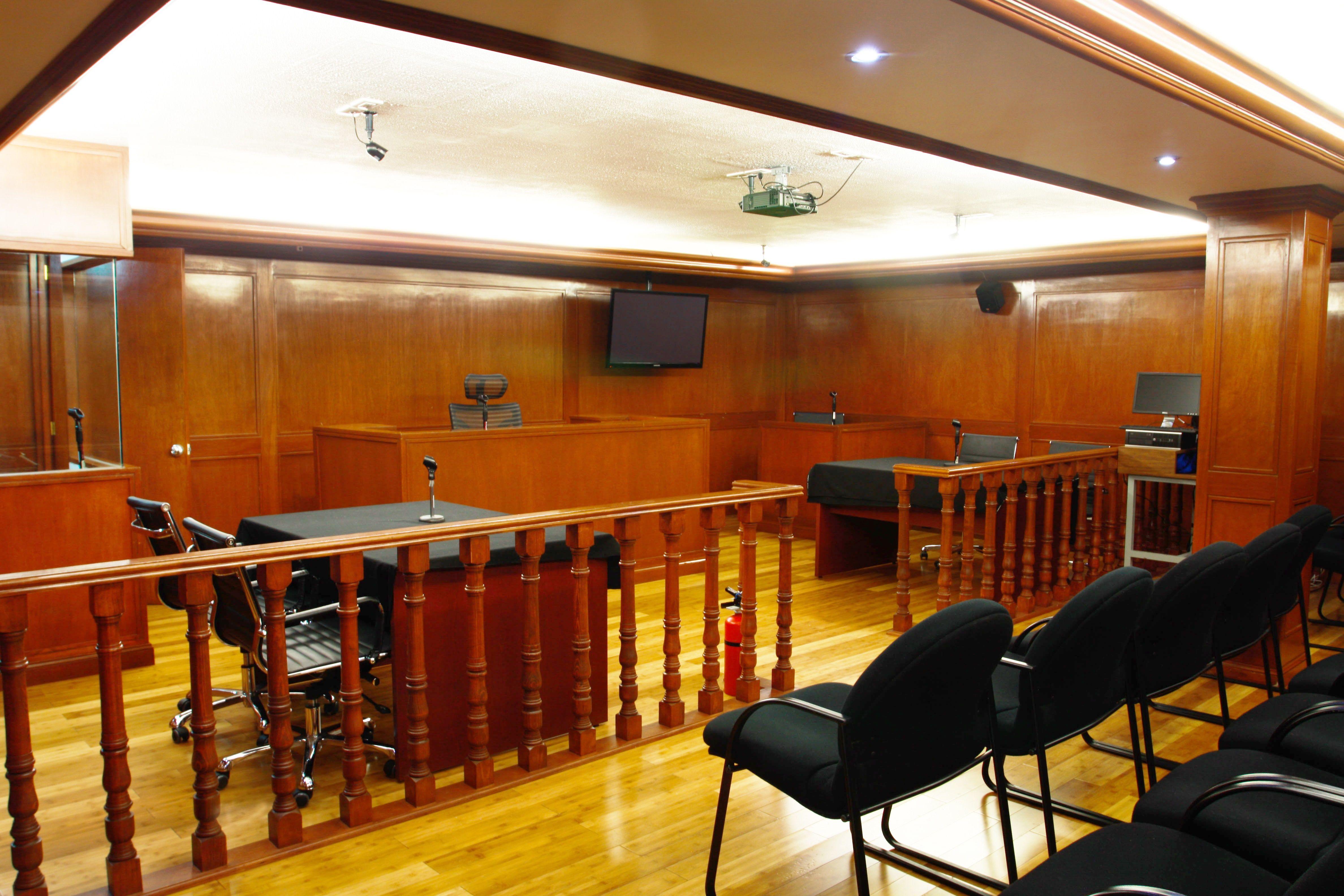 La Sala de Juicios Orales de Campus Cuitláhuac, cuenta con un ...