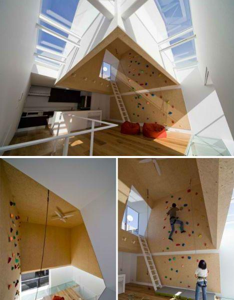 Climbing Walls Moon Design. Ideas For Home.