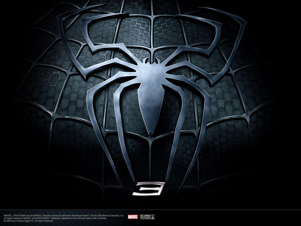 Black Spider Man Symbol Super Heros Pinterest Black Spider